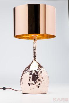 Lámpara de mesa Rumble Copper 59cm