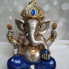Arte Ganesha, Ganesh Idol, Ganesh Images, Ganesha Pictures, Watercolor Paintings Abstract, Abstract Art, Spiritual Wallpaper, Lovely Good Morning Images, Ganesh Chaturthi Images
