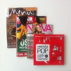 Foto: Nem bem começou o mês e o Cozinha Pop já saiu em três revistas. Março ostentação.