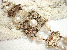 Hey, I found this really awesome Etsy listing at https://www.etsy.com/listing/71110673/vintage-style-bracelet-bridal-bracelet