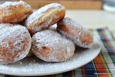 Fluffy and aromatic Pancova or donuts - traditional recipe Sicilian Recipes, Greek Recipes, Donuts, Romanian Food, Romanian Recipes, Yule Log, India Food, Vegan Cake, Muffins