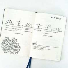 """2,628 Likes, 34 Comments - liz (@bonjournal_) on Instagram: """"My #bulletjournalweeklylog this week. It looks more calm than it's actually turning out! . . .…"""""""