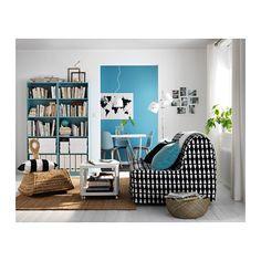 TINGBY Mesa auxiliar con ruedas - blanco - IKEA