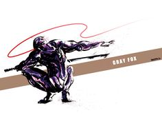Metal Gear Solid Gray Fox