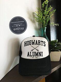 SALE Hogwarts Alumni Hats Hogwarts Caps Harry by Lessssismoreee 34ca164c5b4b