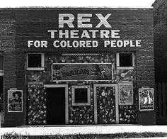 """They separated the colored in there own theater """"dayber licea"""""""