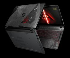 This is the coolest Star Wars item ever. An HP laptop??!?!?! I love it!