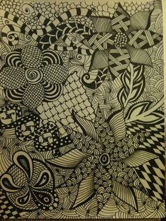 zentangle, via Flickr.