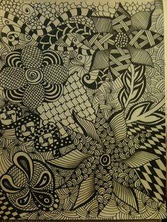 zentangle, via Flickr.