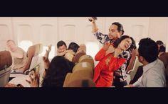 Penerbangan 206 visual mood