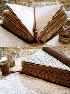 Triangulus Unique Triangle Leather Journal by bibliographica