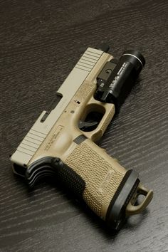 Glock stippled ranger plate taclight high speed low drag