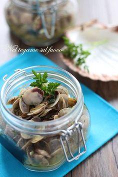 una ricetta fanese molto gustosa. Le vongole alla pureta, che da oggi cuoceranno in sei minuti! #vasocottura #cookingjar #vongole