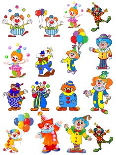 les gommettes -le cirque- Retrouver toutes les gommettes ici        Retrouver toutes les gommettes ici Art Corner, Kids Corner, Image Cirque, Circus Crafts, Diy And Crafts, Crafts For Kids, Anniversaire Harry Potter, Clown Faces, Clowning Around