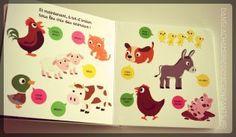 Livre jeunesse - Kididoc - Mon imagier sonore de la ferme - Meuh - Editions Nathan