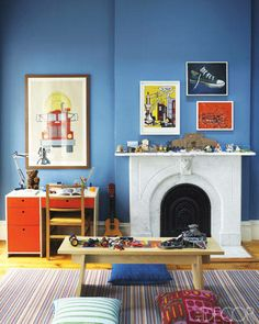 A bright, kid-friendly space in a Manhattan townhouse