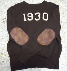Vintage inspired Ralph Lauren Rugby sweater.