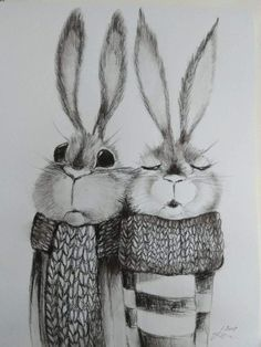 Cute Drawings, Drawing Sketches, Cute Animal Illustration, Floral Drawing, Rabbit Art, Kids Decor, Easter Crafts, Easter Bunny, Bunnies