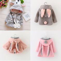 Bunny Bunny Bunny!!! Cute Warm Coat