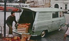 1968-1981 ŠKODA 1203 Delivery Van Type 997/776 Advertising History, Work Horses, Camper Ideas, Antique Cars, Wheels, Vans, Delivery, Type, Vehicles
