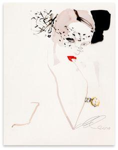 david downton fashion illustration gallery