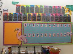 Bilingual word wall