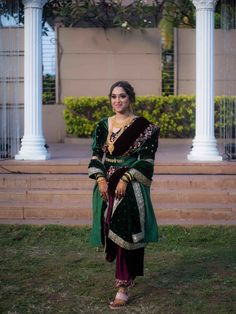 Glam Marathi Wedding With The Bride In Unique Outfits Bride Photography, Photography Ideas, Marathi Wedding, Nauvari Saree, Unique Outfits, Bride Groom, Sari, Bridal, Couples