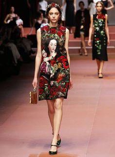 Dolce & Gabbana inverno 2015 Foto: ALESSANDRO BIANCHI / REUTERS