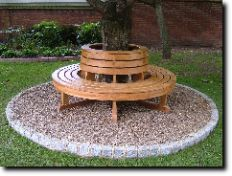 Tree Seats...i want to do this with our back yard tree:)