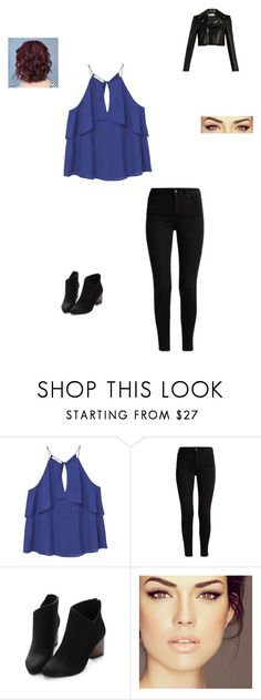 """Meeting 2D"" by maryvarleyrox ❤ liked on Polyvore featuring MANGO and Yves Saint Laurent"