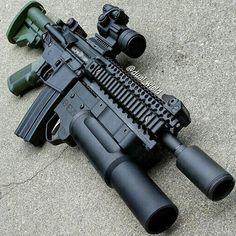 via @dual_wield follow @gunfeed #gunporn #gun #guns #badass #hellyeah #metal