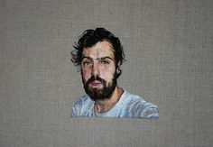 Hyper-Realistic Embroidered Portraits - My Modern Metropolis