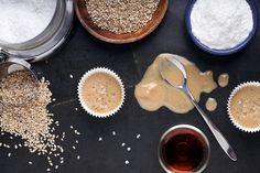 Salted Tahini Caramels - raw/vegan