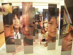 Colombian faces in el museo de oro.