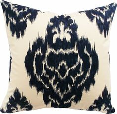 Isla Reversible Pillow at Joss and Main Indian Pillows, Ikat Pillows, Boho Pillows, Elegant Centerpieces, Best Pillow, Cotton Pillow, Cotton Fabric, Home Decor Fabric, Traditional Decor