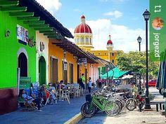 Follow @jorgezd: Calzada #Granada #Nicaragua #ILoveGranada #AmoGranada #Travel