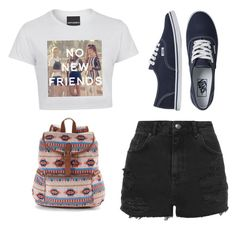 """""""Untitled #32"""" by rachelmena on Polyvore featuring Topshop, Vans and Mudd"""