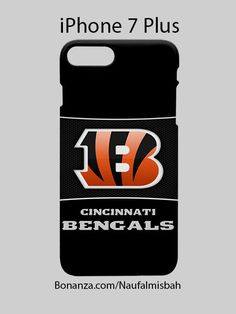 Cincinnati Bengals Custom iPhone 7 PLUS Case Cover Wrap Around