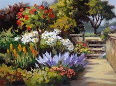"""""""Full Bloom"""" - Original Fine Art for Sale - © Erin Dertner"""