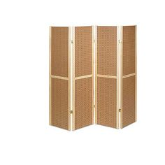 Folding 4 Panel Pegboard Display Unit: use like a Japanese screen, but cover in hooks and action figures :)