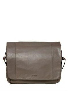 Leather Laptop And Tablet Messenger Bag on shopstyle.com