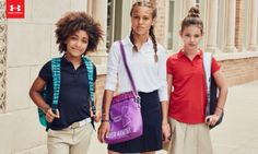 Are you tired of not being able to hand-down school uniforms from year to year?  Check out the new line of school uniforms from Under Armour!  #UANEXT #ad