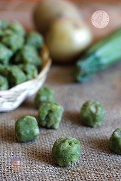 GNOCCHI DI ZUCCHINE ricetta primo piatto con zucchine