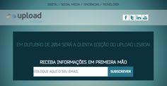 Temos imenso gosto em anunciar que a L4D Web Agency é o Parceiro Tecnológico do Upload Lisboa 2014.   Este evento já vai na sua quinta edição e aborda temas relacionados com o DIGITAL / SOCIAL MEDIA / TENDÊNCIAS / TECNOLOGIA.  Acedam em http://uploadlisboa.com/ e fiquem a par de todas as novidades.  www.fb.com/live4digital | www.live4digital.pt