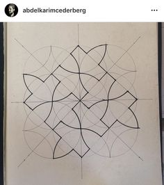 Islamic Art Pattern, Pattern Art, Pattern Design, Arabesque, Principals Of Design, Bamboo Art, Geometric Drawing, Principles Of Art, Geometry Art