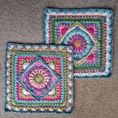 Ravelry: The Jackfield Tile Square pattern by Christine Bateman
