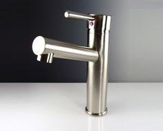 Fresca Soana Single Hole Vessel Mount Bathroom Vanity Faucet - http://www.vanitydecor.com/product.php?pdt=Bathroom%20Faucets