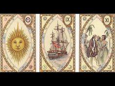 """Elementos do Tarot: """"Lenormand Wahrsagekarten mit Astrologischen Symbo..."""