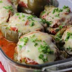 Italian-Style Stuffed Peppers Allrecipes.com