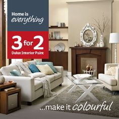 Home is everything...make it colourful! Room Kitchen, Dining Room, Interior Paint, Colorful Interiors, Everything, Paint Colors, Colours, Cook, Make It Yourself